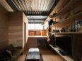 ラーチ合板造付家具