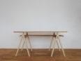 テーブル脚A、作業台、ディスプレイ台として使用可