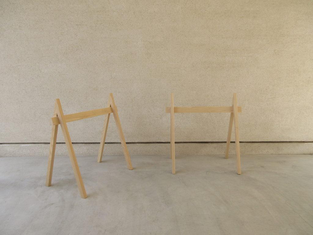 テーブル脚A、ホワイトオーク