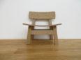 オーク子供用椅子