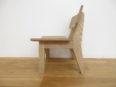 オーク無垢子供椅子