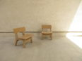 シンプルな子供用椅子、ミニチェアー