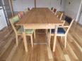 オーク無垢テーブル