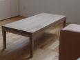 ホワイトオークローテーブル