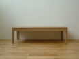 ソファー、テーブル、オーク