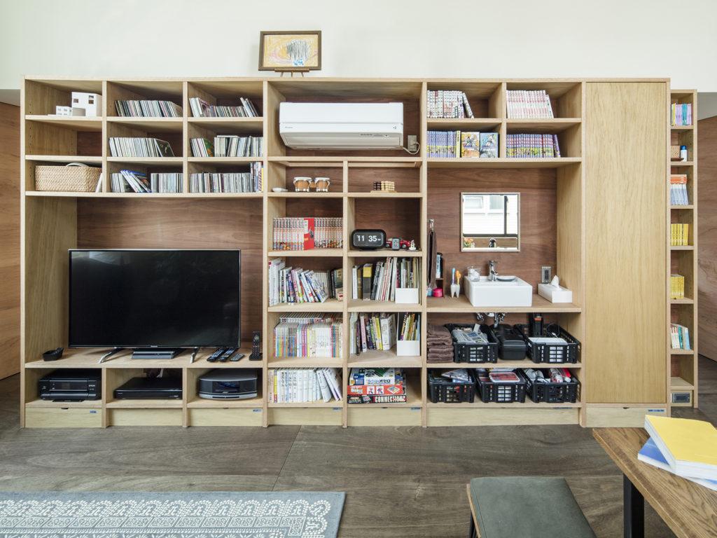 本棚、TV台 オーダー